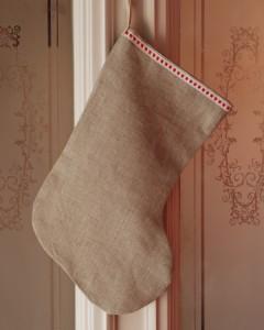 Linen stocking 5