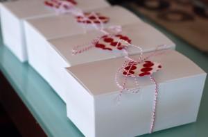Christmas 2008 vanilla snaps packaging