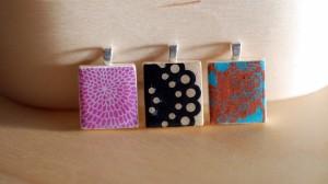 BT4 scrabble tile pendants